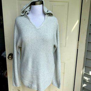 Cynthia Rowley gray 100% cotton  sweater M
